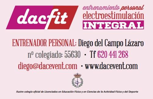 HIIT en DACFIT & Diego del Campo con chaleco de electroestimulación integral (ems)